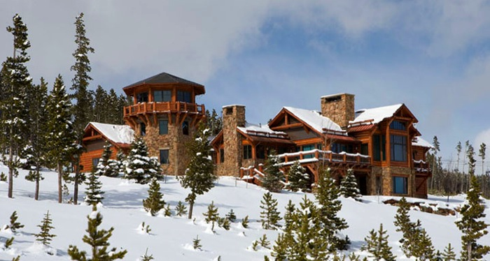 Montana Log Home Architecture, Yellowstone Club, Howard
